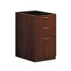 "basyx by HON BL Series Pedestal File | 2 Box / 1 File Drawer | 15-5/8""W x 21-3/4""D x 27-3/4""H | Medium Cherry Finish"