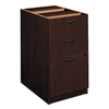 "basyx by HON BL Series Pedestal File | 2 Box / 1 File Drawer | 15-5/8""W x 21-3/4""D x 27-3/4""H 