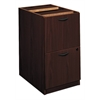 "basyx by HON BL Series Pedestal File | 2 File Drawers | 15-5/8""W x 21-3/4""D x 27-3/4""H 