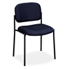 basyx by HON HVL606 Stacking Guest Chair | Navy Fabric