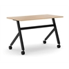 "basyx by HON Multi-Purpose Table | Fixed Base | 48""W x 24""D 
