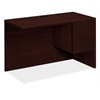 "10500 Series Right Return | 1 Box / 1 File Drawer | 48""W x 24""D x 29-1/2""H 