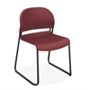 HON GuestStacker High-Density Stacking Chair | Mulberry Shell | 4 per Carton