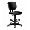 HON Volt Task Stool | Extended Height, Footring | Black SofThread Leather