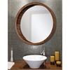 Brybjar Mirror, Round