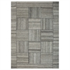 "Patchwork Rectangle 5'2"" x 7'6"" Area Rug, Light Beige"