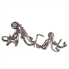 Octopi Figurines in Pewter - Set of 2