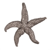 Deep Pewter Starfish - Large