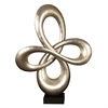 Abstract Infinity Sculpture