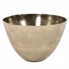 Aluminum Bowl in Champagne Gold - Large