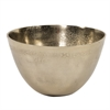 Aluminum Bowl in Champagne Gold - Small