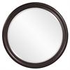 George Bronze Round Mirror
