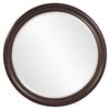 George Brown Round Mirror