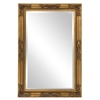 Queen Ann Rectangular Gold Mirror