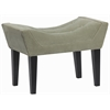 Maddie Button Tufted Single Bench in Portsmouth Loden