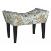 Maddie Button Tufted Single Bench in Chamberlain Spa