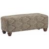 Richmond Upholstered Rectangular Bench in Bradenton Dusk