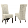 """Dining Chair - 2Pcs / 40""""H / Vintage French Fabric"""
