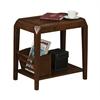 Accent Table - Brown Oak Veneer