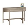 """Accent Table - 48""""L / Dark Taupe With A Storage Drawer"""