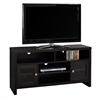 """Tv Stand - 48""""L / Cappuccino With Glass Doors"""