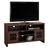 """Tv Stand - 48""""L / Warm Cherry With Glass Doors"""