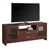 44 Quot White Wash Wood Tv Stand