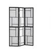 Folding Screen - 3 Panel / Black Frame