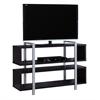 """Bookcase - Tv Stand / 48""""L X 32""""H / Cappuccino"""