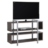 "Bookcase - Tv Stand / 48""L X 32""H / Grey"