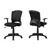 Office Chair - Black Mesh Mid-Back / Multi-Position