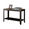 """Console Table - 44""""L / Cappuccino Marble Top"""