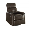 Recliner - Swivel Glider / Brown Bonded Leather