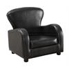 Juvenile Chair - Dark Brown Leather-Look