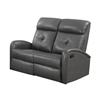 Reclining-Loveseat Charcoalgrey Bonded Leather