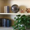 Ceramic 12 Point Stellated Icosahedron Sculpture LG Polished Chrome Finish Copper