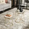 Stoneware Star Ball Figurine Polished Chrome Finish Silver