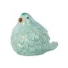 Ceramic Bird Figurine Gloss Finish Sky Blue