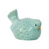 Ceramic Nodding Bird Figurine Gloss Finish Sky Blue