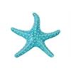 Ceramic Sea Star Figurine Gloss Finish Turquoise
