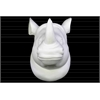 Porcelain Wall Mount Rhino Head Matte Finish White