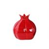 Ceramic Pomegranate Figurine SM Gloss Finish Red