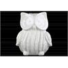 Ceramic Standing Owl Figurine LG Gloss Finish White
