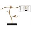 Metal Tree Jewelry Holder with Birds on Base Metallic Finish Gold