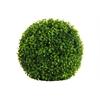 Polyurethane Round Grass Ball Topiary Decor LG Natural Finish Green