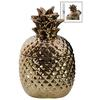 Ceramic 20 oz. Pineapple Canister SM Gloss Finish Copper