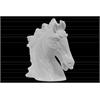 Ceramic Horse Head Matte Finish White