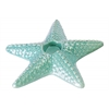 Ceramic Sea Star Candle Holder Gloss Finish Turquoise