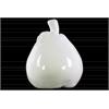Ceramic Pear Figurine LG Gloss Finish White