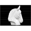 Ceramic Horse Head LG Gloss Finish White